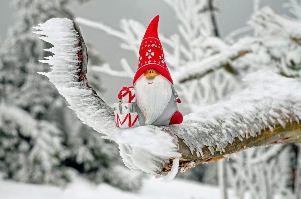 santa claus, christmas motif, figure
