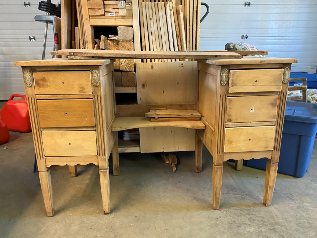 Dresser that was loved back to life